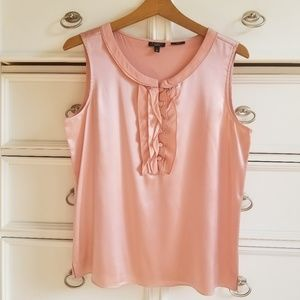 Talbots Rose Silk Top